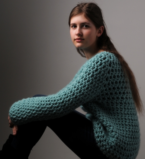Simple Crochet Jumper Mrs Moon