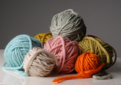 Moon Lilacs Hand Spun Yarn ~ 220g