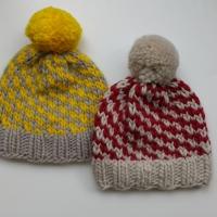 Knit Slip Stitch Hat
