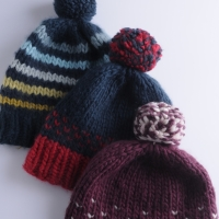 Knit Super Quick Hats
