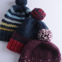 Knit Super Quick Hats