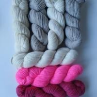 Pinks, Darjeeling, Damson