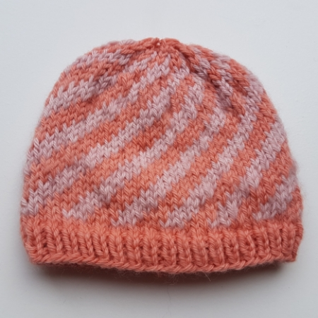 Candy Cane Hat Pinks
