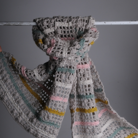 Trellis scarf