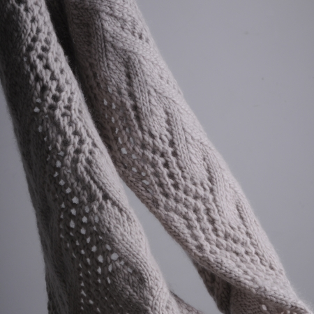 Snuggly Lace Scarf