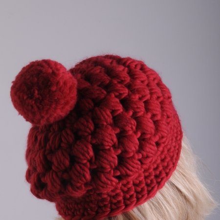 Chunky Puff Beret