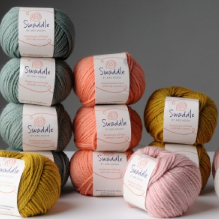 Swaddle Yarn by Mrs Moon in 6 colours