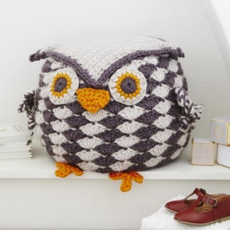 Giant Cuddly Owl