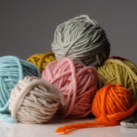 Plump Superchunky handknitting yarn